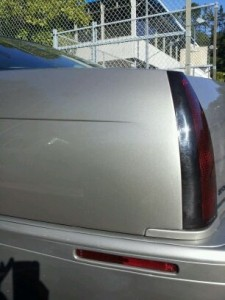 Paintless Dent Repair Cadillac - After (PDR FAQ)