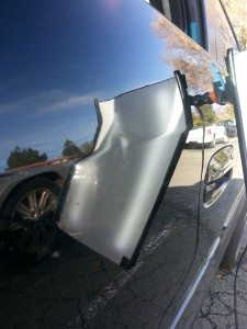 Best Mobile Paintless Dent Removal In Concord - Before